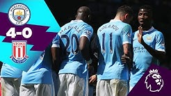 CITY 4-0 STOKE HIGHLIGHTS | On This Day 23rd April 2016