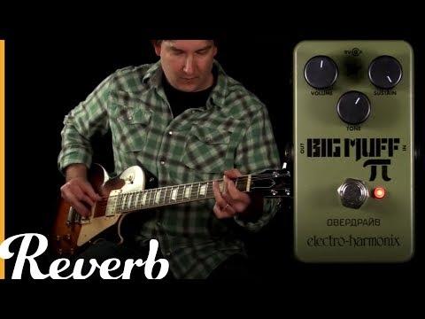 ElectroHarmonix Green Russian Big Muff Pi  Reverb Tone Report Demo