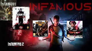 Infamous Gameplay Evolution Playstation Series 2009 - 2014 (PS3, PS4)