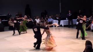 2012 Cincinnati Ballroom Classic - Pro Smooth (Foxtrot) Competitive Dancing