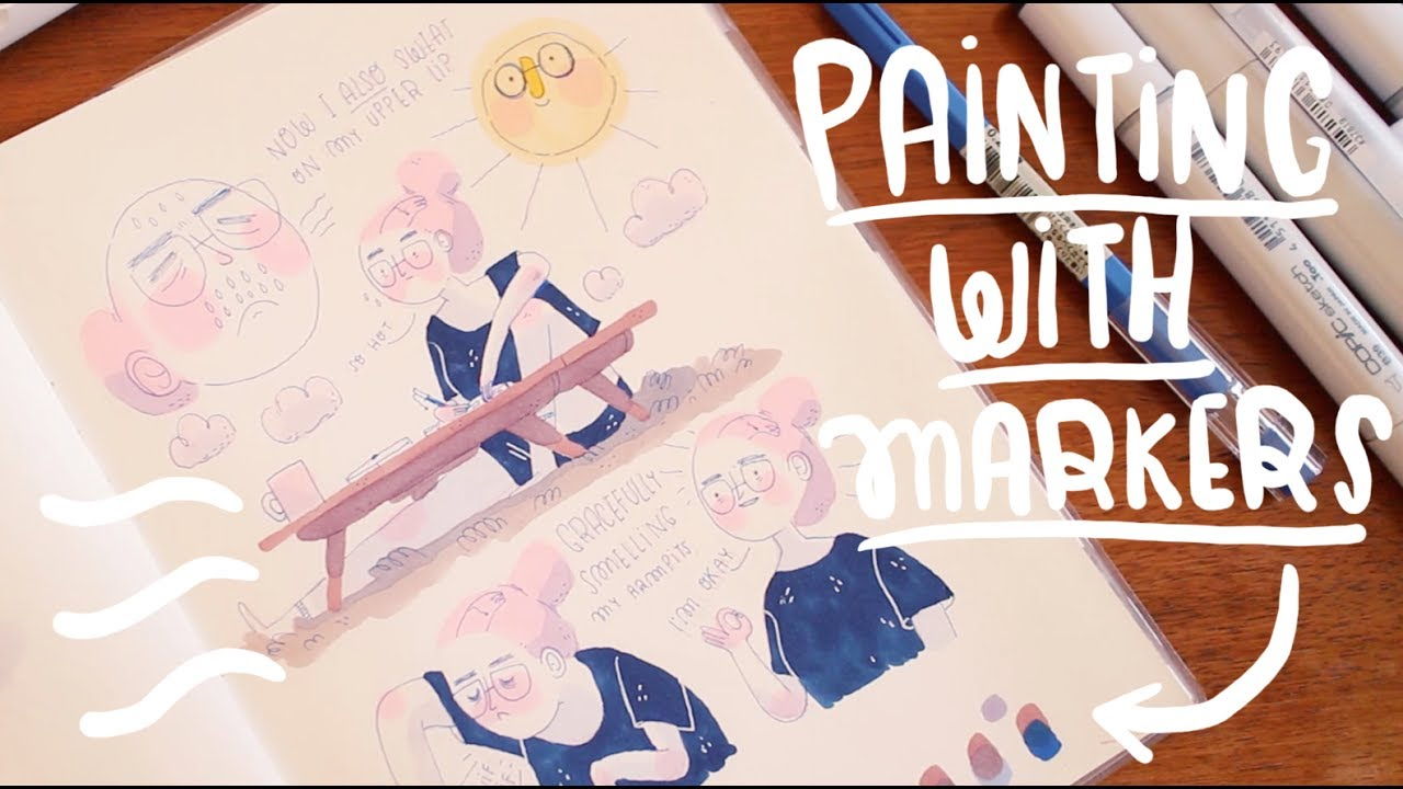 How I Paint And Draw My Instagram Illustrations Frannerd