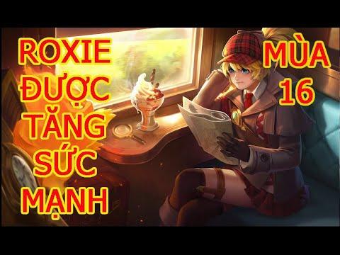 Hướng Dẫn Cách Chơi Roxie Mùa 16 | Cách chơi, phụ trợ, phù hiệu, ngọc cho Roxie Liên Quân (1).