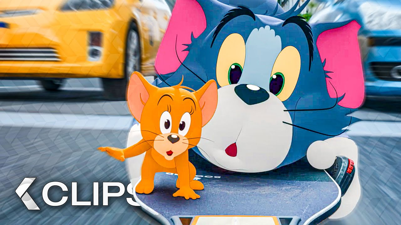 Download TOM AND JERRY - 7 Minutes Trailer & Clips (2021)