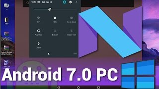 Video Como Instalar Android 7.0 en PC (Nougat) - Paso a Paso 2017 download MP3, 3GP, MP4, WEBM, AVI, FLV Juli 2018