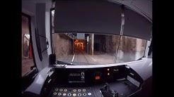 Helsinki Metro. Siilitie-Matinkylä. Kuljettajan-näkymä. Drivers view.