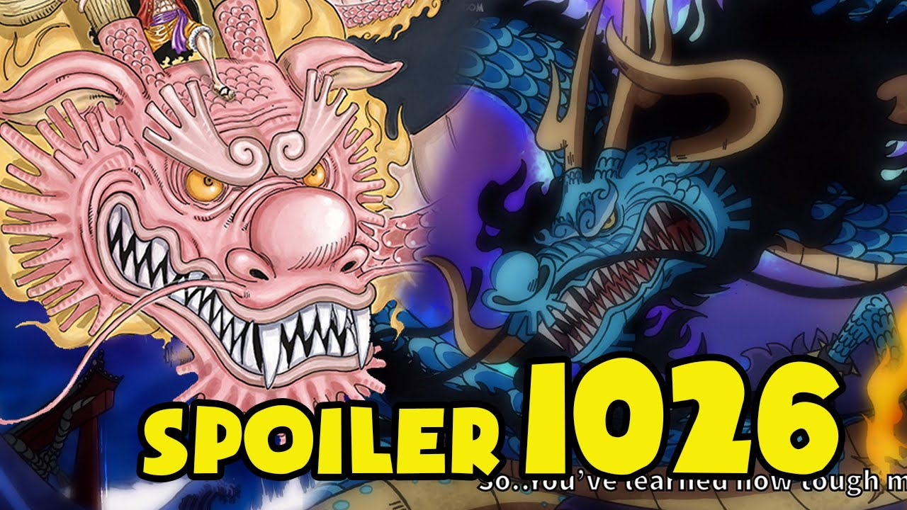 [Thông tin nhanh One Piece 1026] Rồng MOMONOSUKE Lao Vào Cắn Xé Rồng KAIDO!
