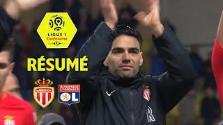 AS Monaco - Olympique Lyonnais (3-2)  - Résumé - (ASM - OL) / 2017-18