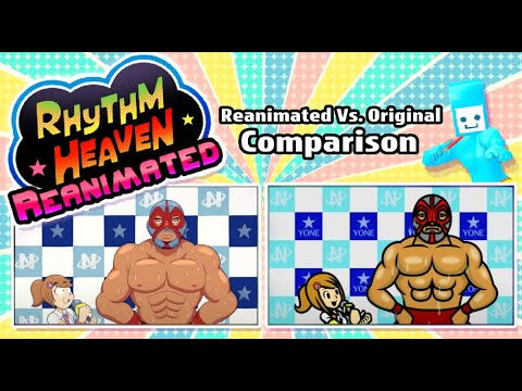 Rhythm Heaven Reanimated: Official Comparison Video
