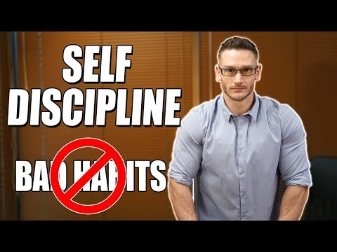 Self-Discipline | How to Break Bad Habits | Form Good Habits | Real Talk- Thomas DeLauer