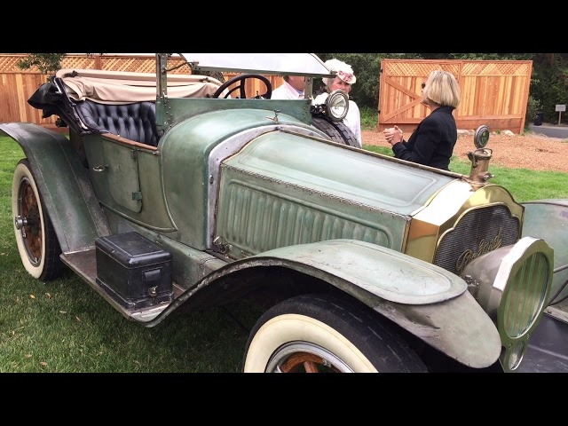 2017 Pebble Beach shows off The Carl Fisher 1915 Packard Indy Pace car across the