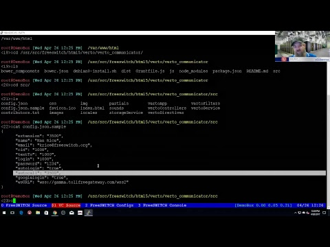 ClueCon Weekly - April 26th 2017 - Installing and Configuring VertoCommunicator