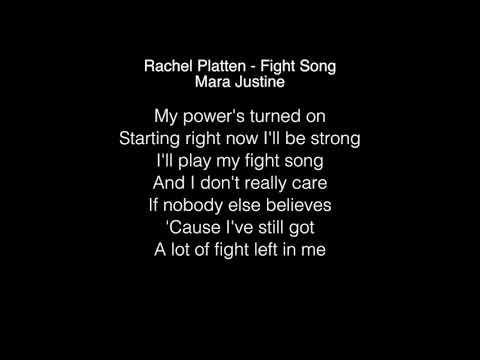 Rachel Platten & Mara Justine - Fight Song Lyrics American Idol