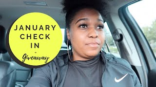 January Check In | Hows Your New Year Going | + Giveaway
