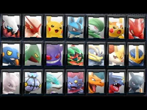 Pokkén Tournament DX - All Characters