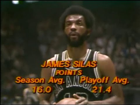 James Silas (27pts) vs. 76ers (1979 Playoffs)