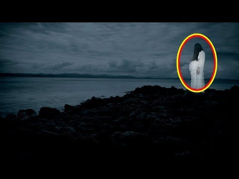 Real Ghost caught on camera on Sea Beach