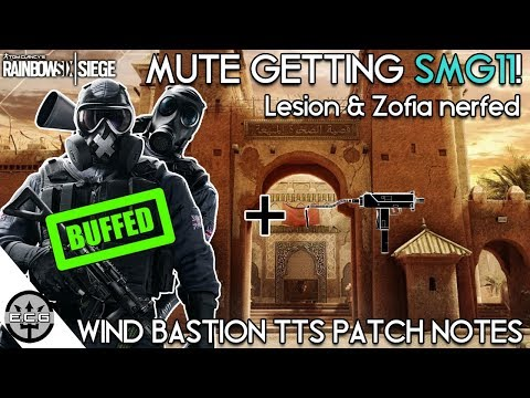 Mute Gets SMG11! Lesion & Zofia Nerfed | R6 Shop Getting