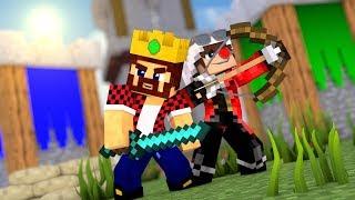 АИД И ДЕМ ВМЕСТЕ РАЗНОСЯТ ВРАГОВ НА БИТВЕ ЗАМКОВ В МАЙНКРАФТЕ! Minecraft Castles