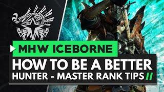 Monster Hunter World Iceborne | How to Be A Better Hunter - Master Rank Tips