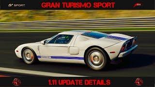 GT Sport - New Update Details & BOP Changes (1.11)