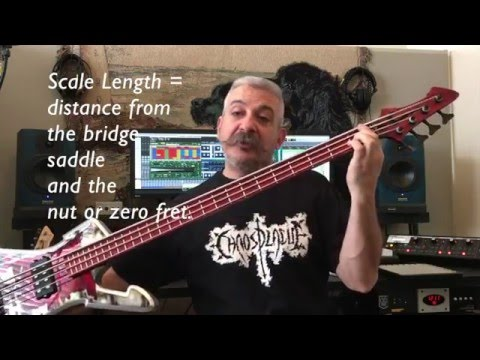 360 With C3 Episode 2 - part 1 - Scale Length - KNOW YOUR NUMBERS!
