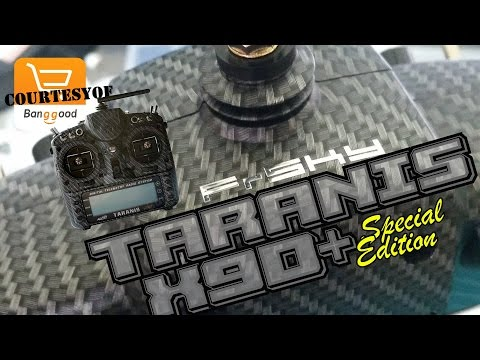 "FrSky Taranis X9D Plus SE ""Special Edition"" - Review Part 1 Courtesy of Banggood.com"