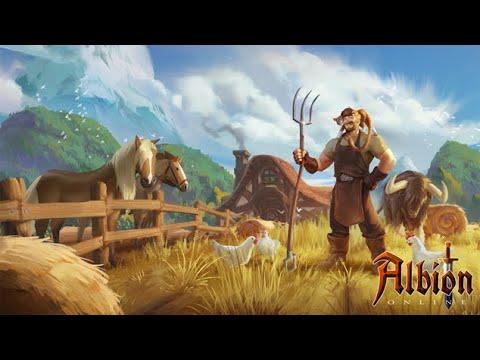 Albion Online персональный остров фермерство.