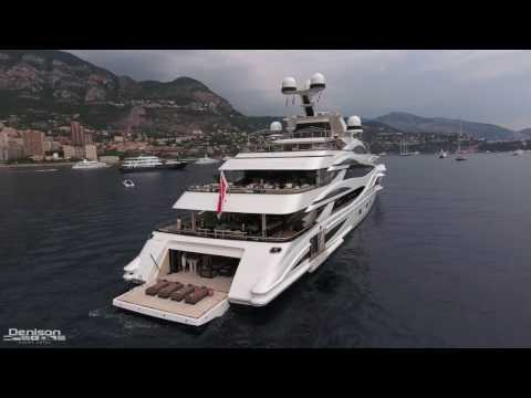 Monaco Yacht Show At Port Hercules