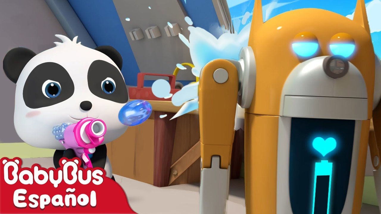 Panda Kiki v.s. Perro Robot | Dibujos Animados | Kiki y Sus Amigos | BabyBus Español