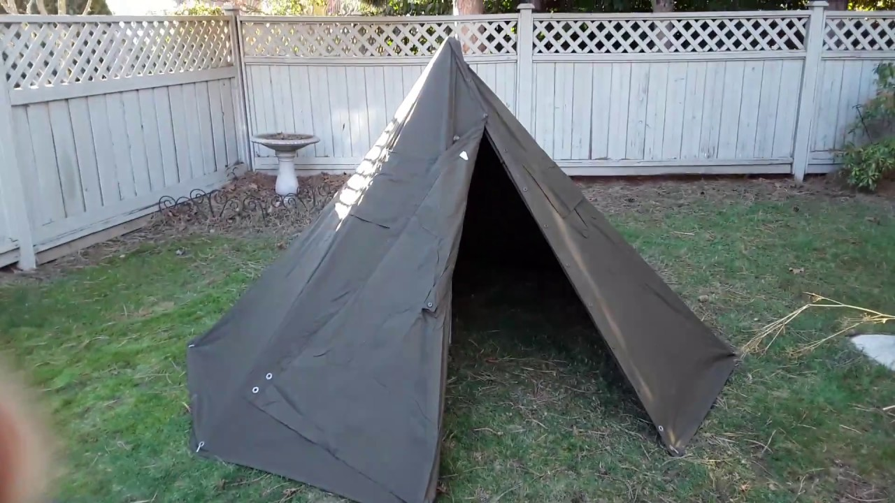 Polish Lavvu tent - first setup. & Polish Lavvu tent - first setup. - YouTube