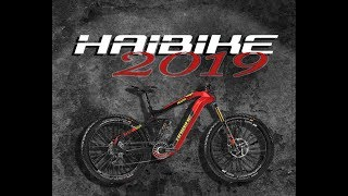 HAIBIKE 2019 complete Bike Lineup