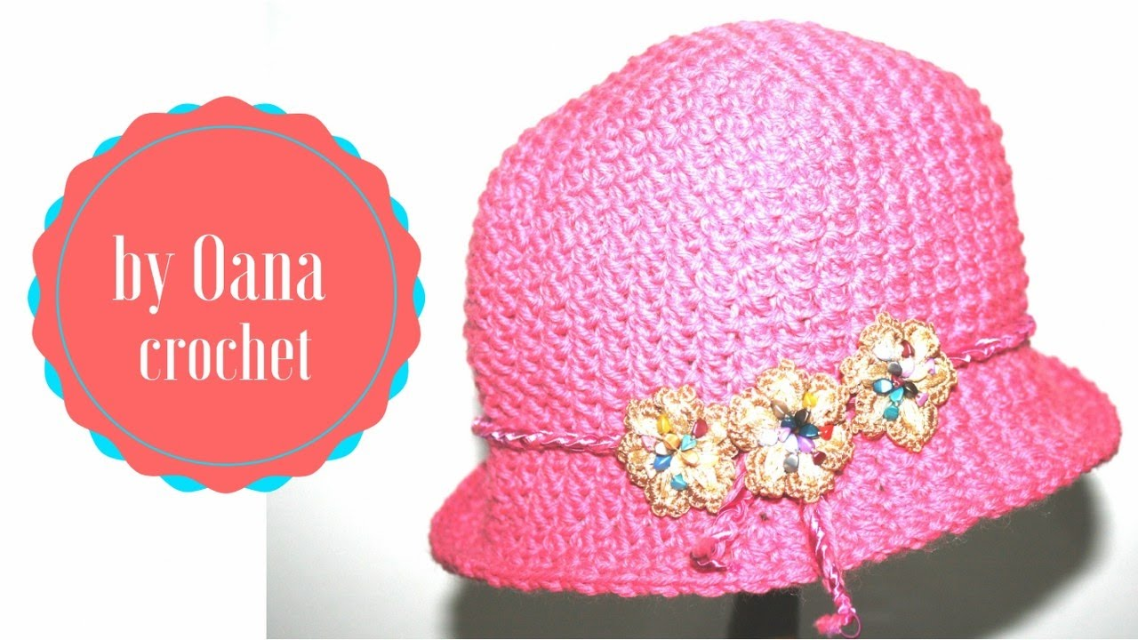 Cappellino Bimba Alluncinetto Youtube