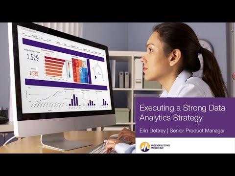 Webinar: Executing a Strong Data Analytics Strategy (Dermatology)