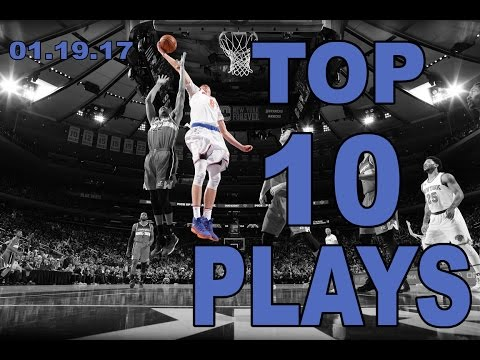 Veja o video – Top 10 NBA Plays of the Night: 01.19.17