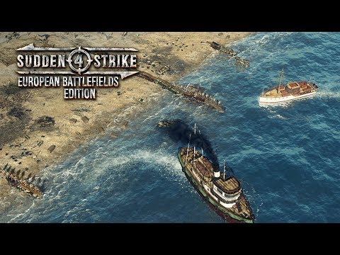 Sudden Strike 4 تعمل بدقة 4K  علي Xbox One وبمستوي مطابق للكمبيوتر