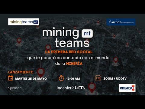 Lanzamiento de la red social Miningteams
