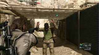 Metal Gear Solid 5: The Phantom Pain PS3 gameplay (2)