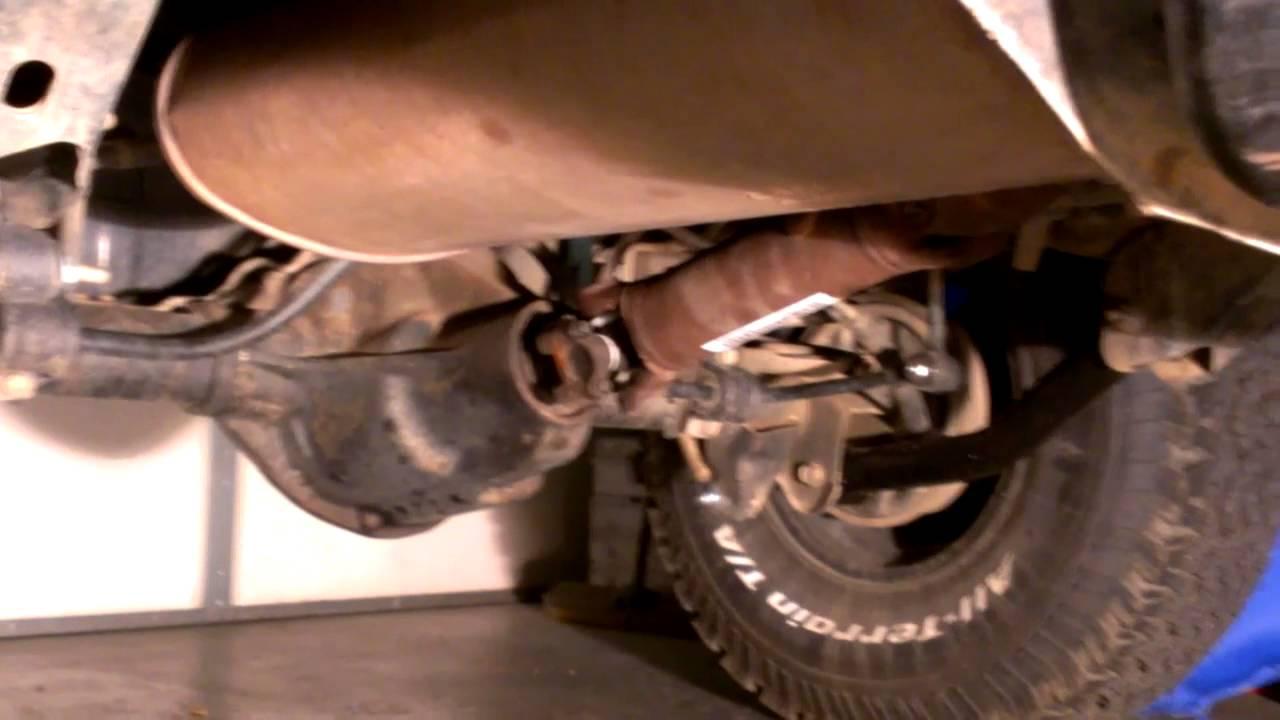 02 jeep wrangler driveline vibration possible fix [ 1280 x 720 Pixel ]