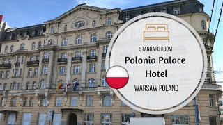 Polonia PALACE Hotel, Room Review, WARSAW Poland 4K
