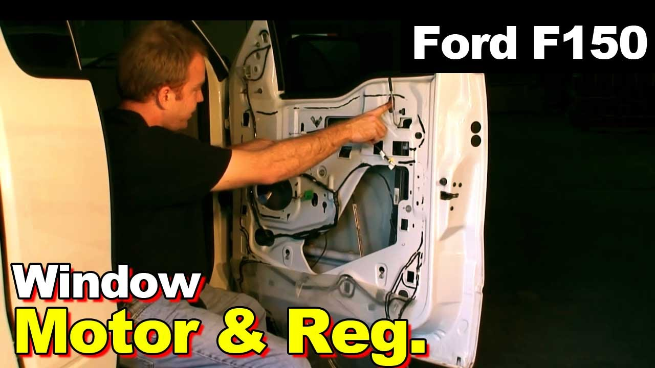 Ford F 150 Window Diagram Circuit Schema 2005 Starter Wiring Parts 2004 F150 Regulator Youtube Water Pump 1989