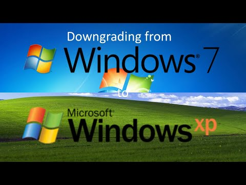Christmas Special: Downgrading From Windows 7 To Windows XP
