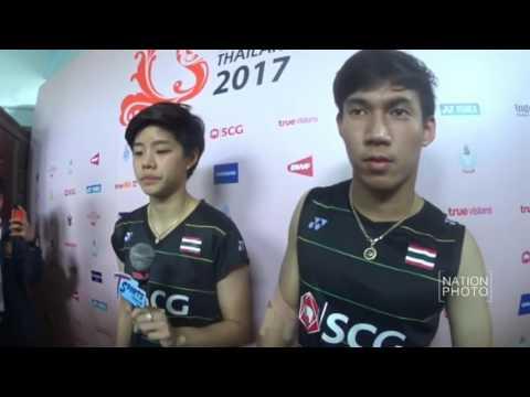 แบดมินตันคู่ผสมไทยทะลุชิงฯ