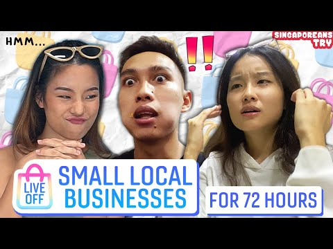 Singaporeans Try: Living Off ONLY Small Local Businesses For 72 Hours