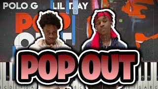 How to play: Polo G Ft. Lil Tjay - Pop Out (Piano Tutorial)