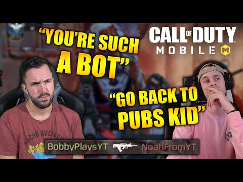 Bobby Plays Vs Noah From YT In Call Of Duty Mobile