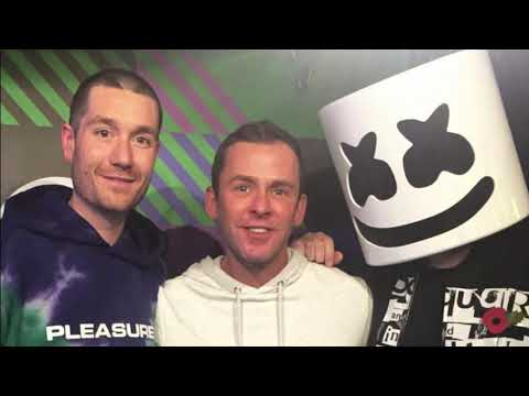 dan bastille & marshmello interview with scott mills