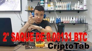 2° Saque na CryptoTab de 0.0013 BTC - Totalmente de Graça - Confira Agora!
