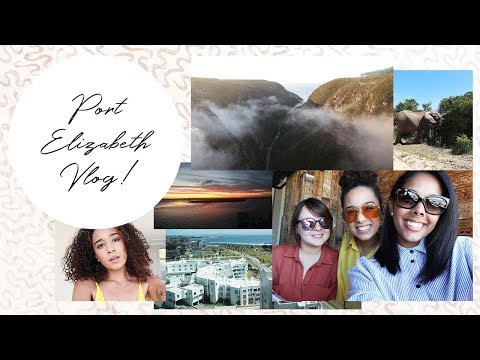 VLOG | Come With Me to PE! Radisson Blu; VW Museum; Addo Elephant Park; & Lots and lots of laughter!