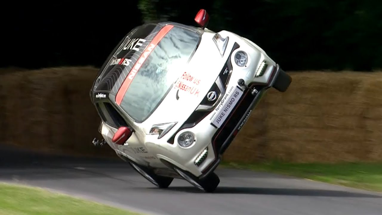 Nissan Fastest Car >> World Record for Fastest Two Wheels Mile! Nissan Juke RS Nismo - YouTube