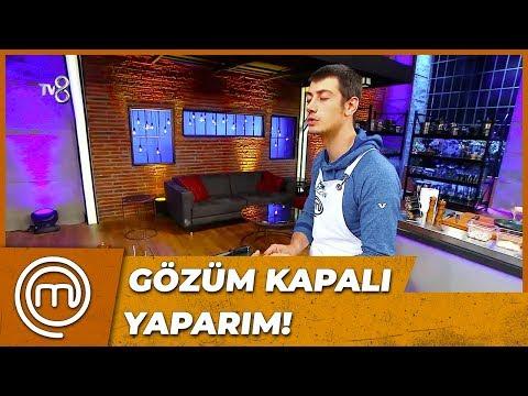 Alican'ın Gözü Kapalı Çöp Şiş Yaptı | MasterChef Türkiye 58.Bölüm
